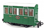 Peco GR-505   OO-9 Tallylyn Railway (GVT) 4-wheel First Class coach with buffers